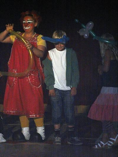 Emrik och clown
