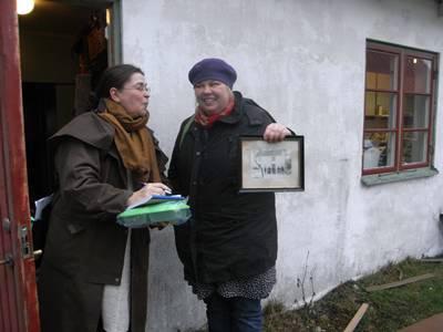 Inger Hammar intervjuar