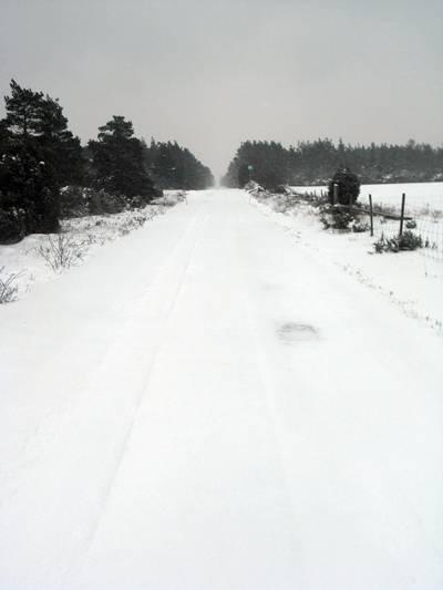 4 km rak väg