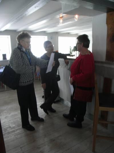 Gullan, Harriet och Íréne